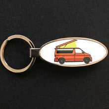 MyCamperVan Bongo orange camper keyring
