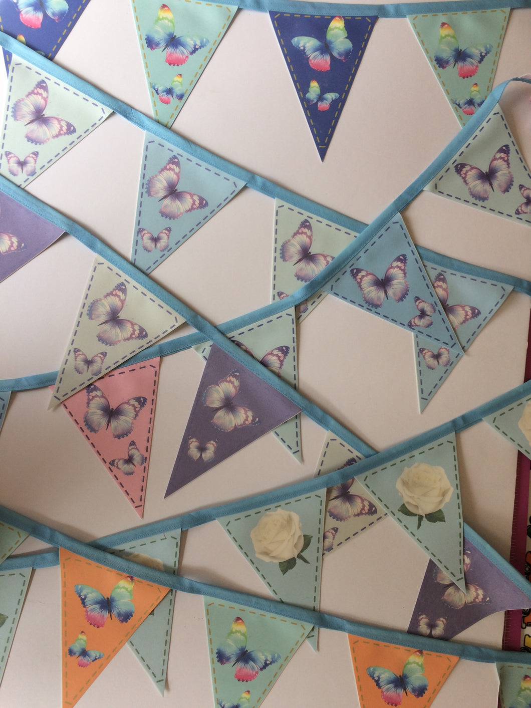 Fabric Bunting - Butterflies