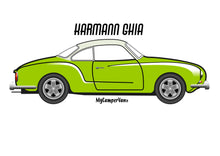 Karmann Ghia lime green