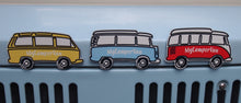 Fridge Magnets - 3 Vans in Gift Tin