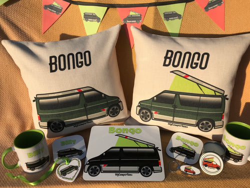 MyCamperVan range of Mazda Bongo camper products and gifts