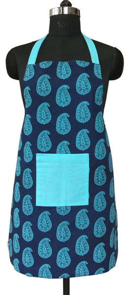 Lushomes Colorful Printed 2 in 1 Stylish Reversible Apron