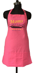 Lushomes Cotton Witty Pink Moms Cooking Apron
