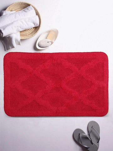 Lushomes Ultra Soft Cotton Rasberry Regular Bath Mat
