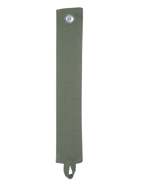 Lushomes Vineyard Green Plain Cotton Curtains With 8 Eyelets for Long Door