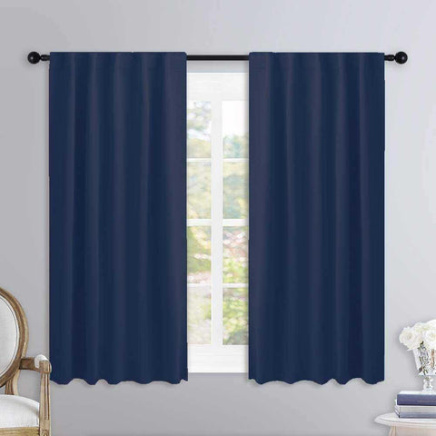 Lushomes Cotton Curtain and Drapes For Window Online ( W54 inches x H60 Inches, Pack of 2 Curtains)