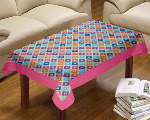 Lushomes Square Printed Centre Table Cloth