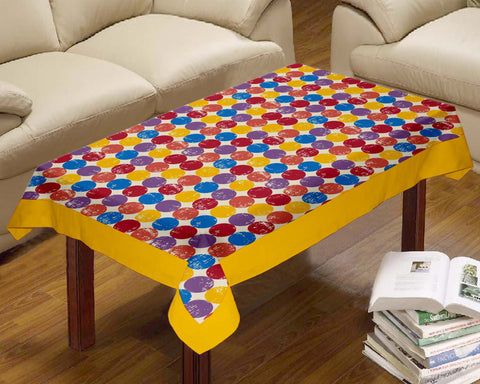 Lushomes Cotton Titac Printed Centre Table Cloth