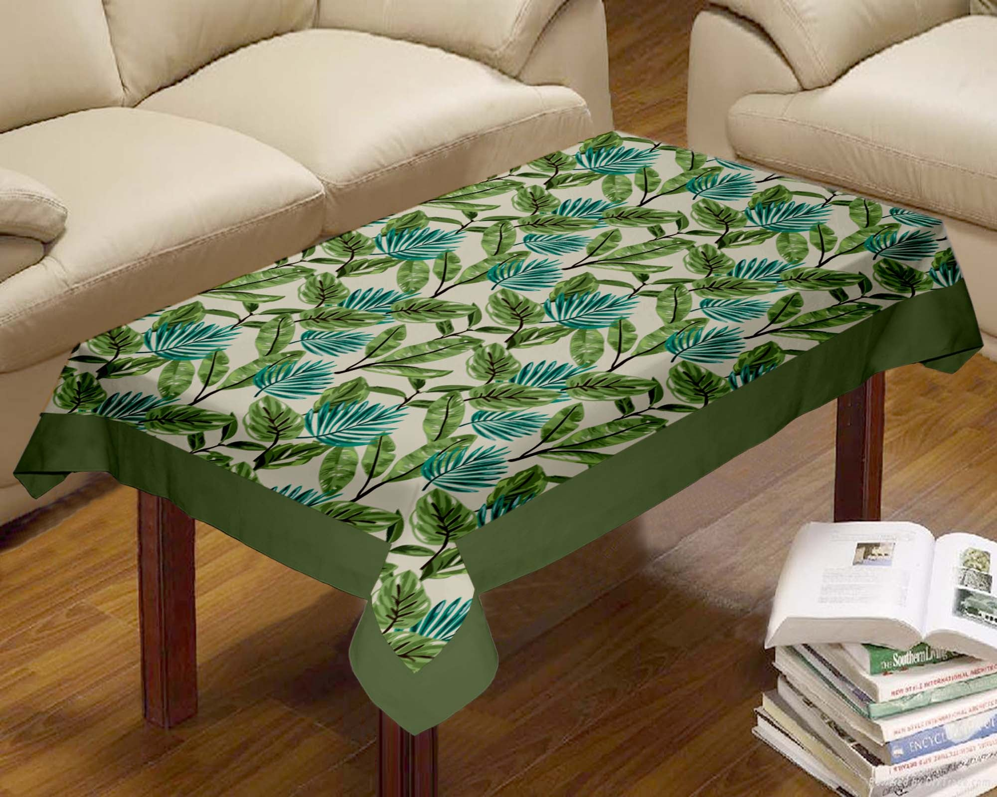 Lushomes Forest Printed Centre Table Cloth