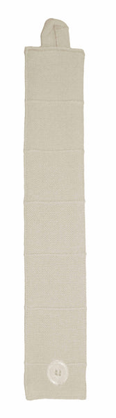Lushomes Fabiana Cream Curtains with Coordinating Tie Back For Door (Single pc)