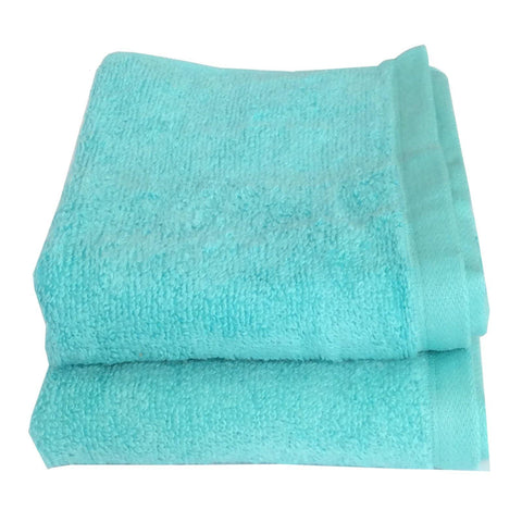 Lushomes Cotton Coral Hand Towel Set (Pack of 2) - Lushomes