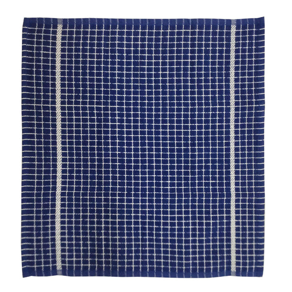 "Lushomes Blue Set of 2 Terry Cotton Kitchen Tea Dish Hand Towel Rags Linen Set (Size: 20""x20"") - Lushomes"