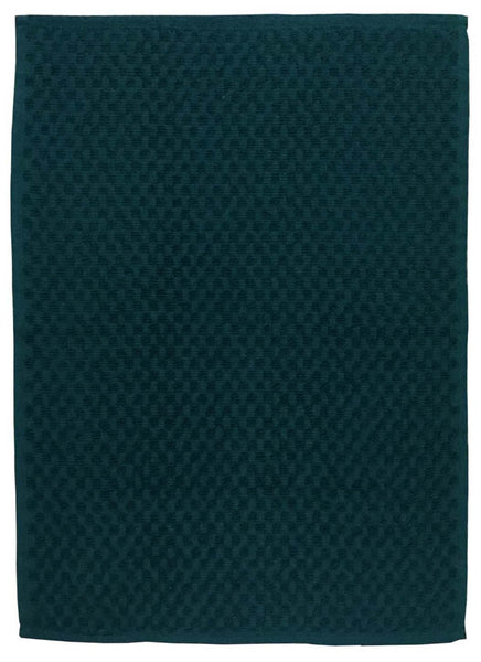 Lushomes Green Terry Cotton Kitchen Tea Dish Hand Towel Rags Linen Set (Pack of 2) - Lushomes