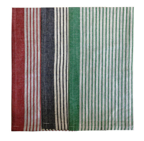 "Lushomes Super absorbent & soft Cotton Kitchen Tea Dish Hand Towel Rags Linen Set (18"" x 27, Pack of 3) - Lushomes"