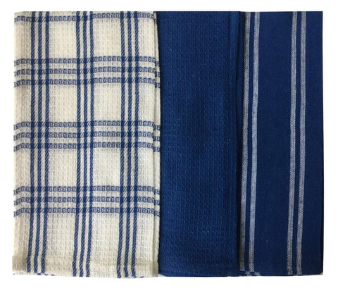 "Lushomes Multi Super absorbent and soft Kitchen Napkins (18"" x 25"", Pack of 3) - Lushomes"