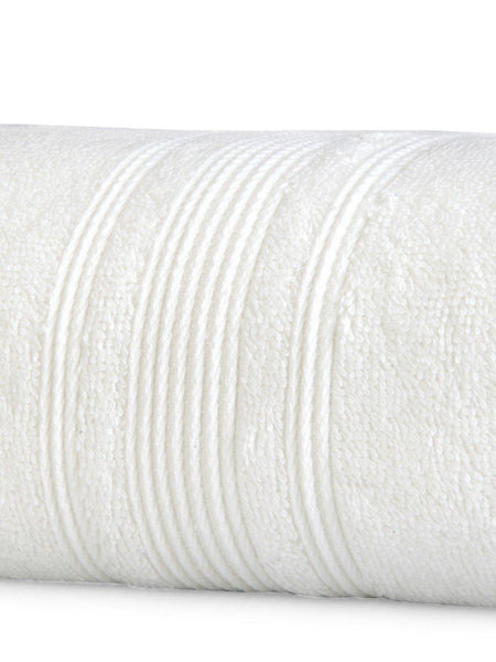 "Lushomes Off-White Super soft and fluffy Cotton Turkish Bath towel (Size 35"" x 71""�, Single Pc, 450GSM) - Lushomes"