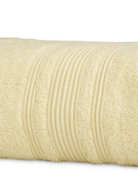 "Lushomes Cream Super Soft Absorbent and Fluffy Cotton Turkish Bath Towel (Size 30"" x 60""�,450 GSM) - Lushomes"