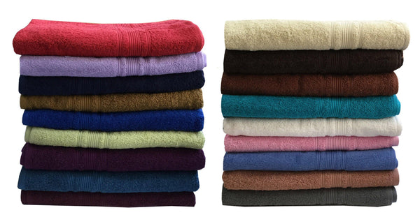 "Lushomes Olive Brown Super Soft Absorbent and Fluffy Cotton Turkish Bath Towel (Size 30"" x 60""�,450 GSM) - Lushomes"