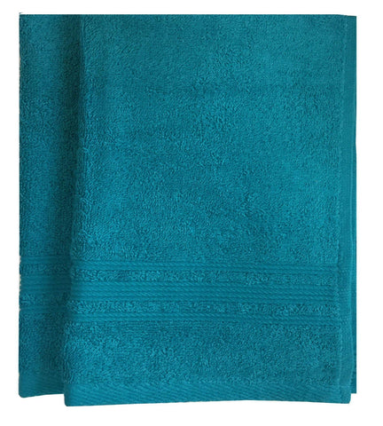 Lushomes Blue Bird Super Soft and Fluffy Cotton Hand Towel Set (Size: 40 x 60 cms, Pack of 2, 450 GSM) - Lushomes