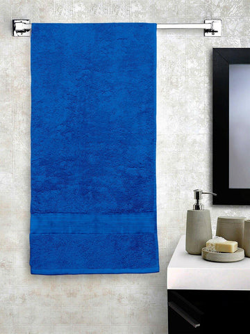 "Lushomes Sky Blue Hammam Bath Turkish Economy Cotton Terry Towels GSM 400 GSM (Size 30 x 60"", Single Pc) - Lushomes"
