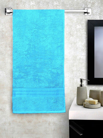 Lushomes Light Blue Hammam Bath Turkish Cotton Terry Towels GSM 550 GSM (30 x 60 inches) - Lushomes