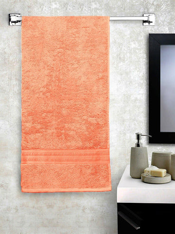 Lushomes Peach Hammam Bath Turkish Cotton Terry Towels GSM 550 GSM (30 x 60 inches) - Lushomes