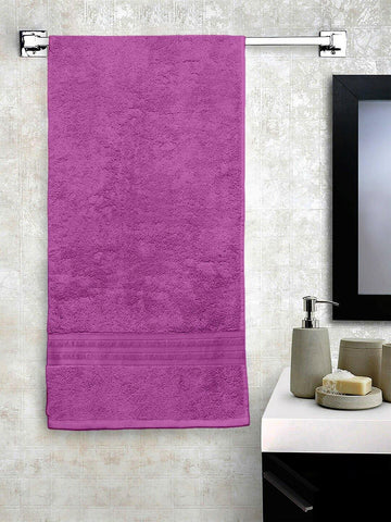 Lushomes Lavender Hammam Bath Turkish Cotton Terry Towels GSM 550 GSM (30 x 60 inches) - Lushomes
