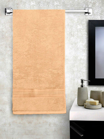 "Lushomes Beige Hammam Bath Turkish Economy Cotton Terry Towels GSM 400 GSM (Size 27 x 55"", Single Pc) - Lushomes"