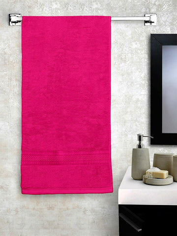 "Lushomes Rani Hammam Bath Turkish Economy Cotton Terry Towels GSM 400 GSM (Size 27 x 55"", Single Pc) - Lushomes"