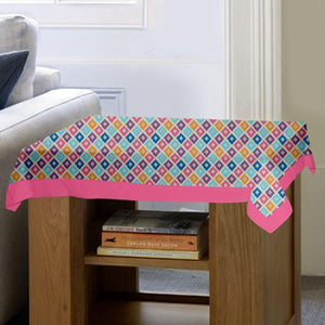 Lushomes Square Printed Side Table Cloth - Lushomes