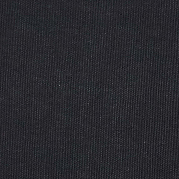 Lushomes Plain Pirate Black Side Table Cloth - Lushomes