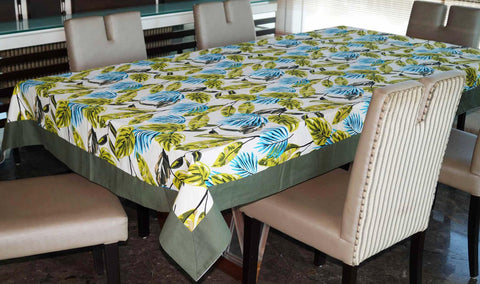 Lushomes 6 Seater Regular Forest Printed Table Cloth - Lushomes