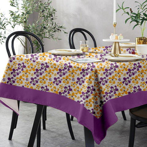 Lushomes 6 Seater Regular Shadow Printed Table Cloth