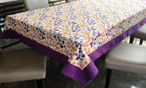 Lushomes 6 Seater Small Shadow Printed Table Cloth - Lushomes