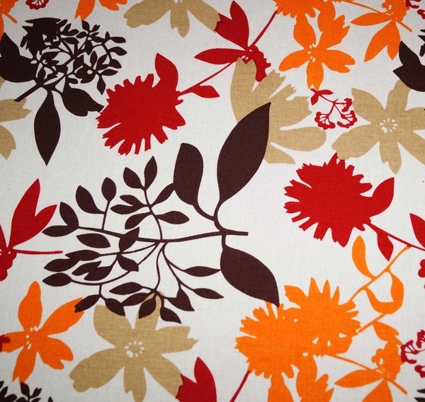 Lushomes 8 Seater Leaf Printed Table Cloth - Lushomes