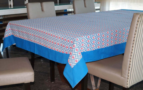 Lushomes 8 Seater Diamond Printed Table Cloth - Lushomes