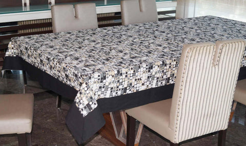 Lushomes 8 Seater Coins Printed Table Cloth - Lushomes