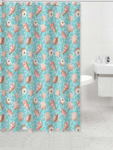 Lushomes Dessert Digital Printed Waterproof Bathroom Shower Curtain with 12 Eyelets and 12 Hooks - Lushomes
