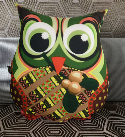 Lushomes Decorative Owl Cushion - Lushomes