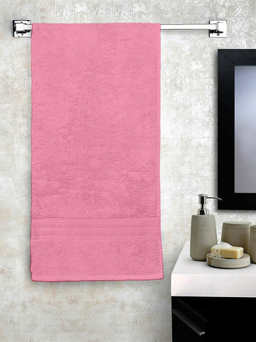 Lushomes Light Pink Hammam Bath Turkish Cotton Terry Towels GSM 550 GSM (30 x 60 inches)