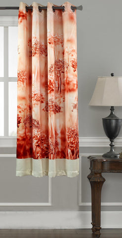Lushomes Digitally Printed Jungle Polyester Blackout Curtains for Windows (Single pc) - Lushomes