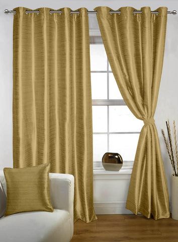 Lushomes Strong Ground Twinkle Star Curtain with Blackout Lining for Doors - Lushomes
