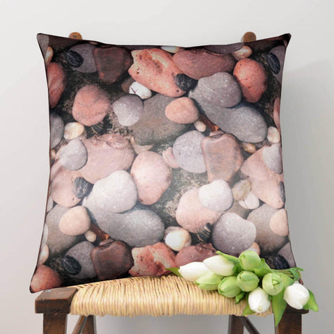 Lushomes Digital Printed Peebles Cushion Cover on Ultra Premium Whiteout Fabric - Lushomes