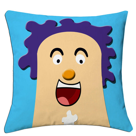Lushomes Kids Digital Print Laughter Cushion Covers (Pack of 2) - Lushomes