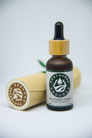Partnered Proof CBD Tinctures