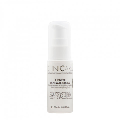 Cliniccare Lip & Eye Renewal Cream