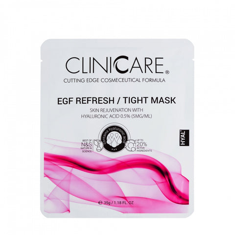 Cliniccare EGF Refresh/tight mask, 1 sheet