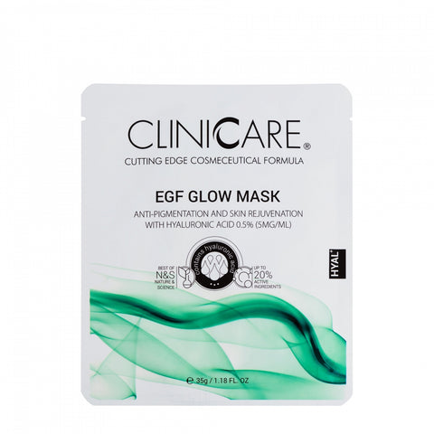 Cliniccare EGF Glow Mask, 1 sheet