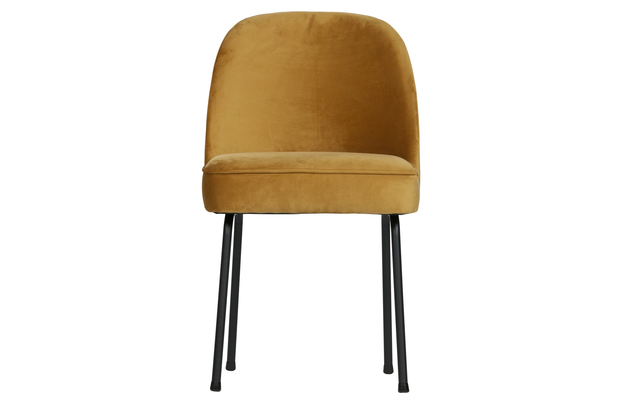 Dining Chair Velvet Mustard