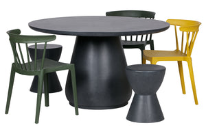 Stool Anthracite
